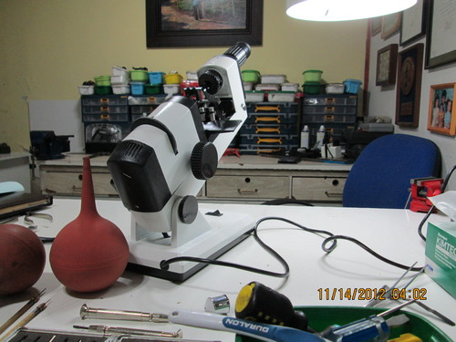 Reparacion de Microscopios, Lensometros, Refractometros, etc.
