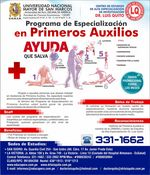 UNMSM - Specialization Program in First Aid