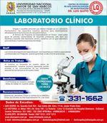 UNMSM - Laboratorio Clínico