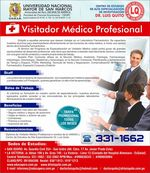 UNMSM - Bezoeker Medical Professional