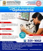 UNMSM - Fellowship in Optometrie