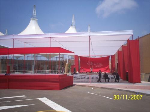 awning inauguration mall Trujillo