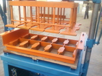Vibro pallet block making.