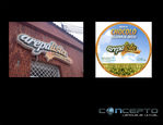 Avisos en Acrilico - imagen corporativa
