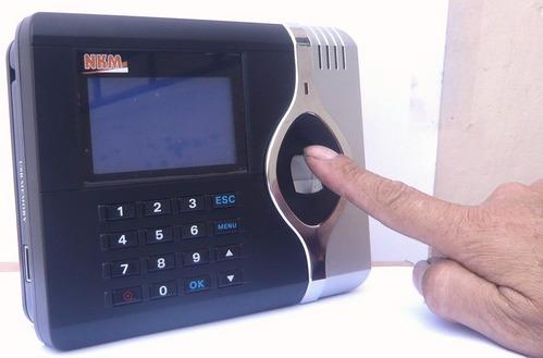 Control de Asistencia por huella digital
