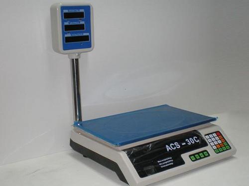 Elektronische weegschaal 30 KG TOREN MET SLIMME