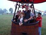 Vlucht Exclusieve Familie in Hot Air Balloon