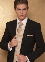 Suits for grooms and godfathers
