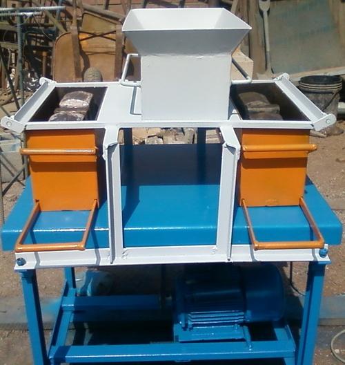 Mesa vibradora para bloques pesados, de desagüe.