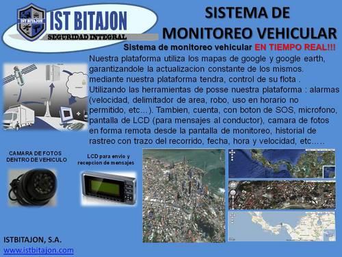 Monitoreo vehicular GPS