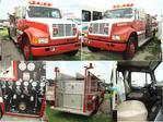 caminhões de bombeiros, ambulâncias e Máquinas Industriais