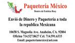 Paqueteria Mexico