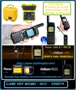 TELEFONOS SATELITALES IRIDIUM 9555 / CON WIFE SATELITAL