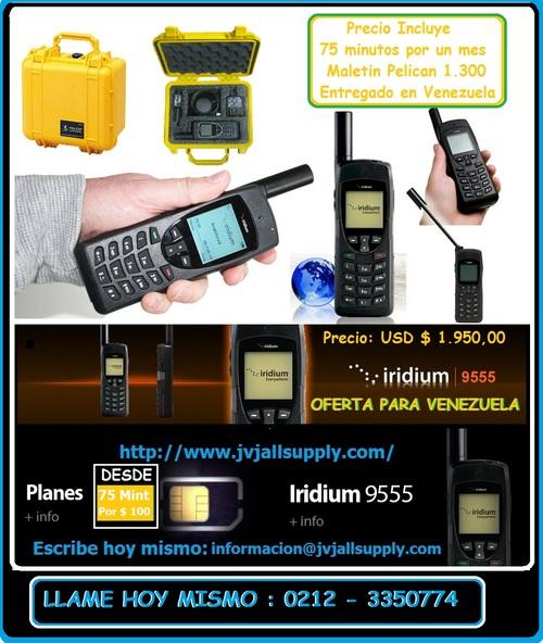 Iridium 9555 Satellitentelefon / SATELLITE mit Ehefrau