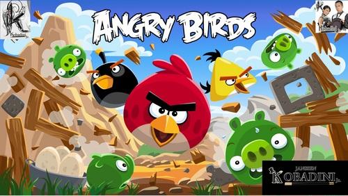 Show Angry Birds mágicos