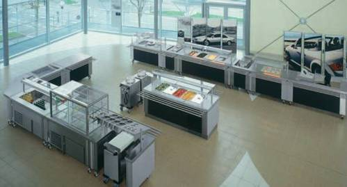 Self-Service Lines en apparatuur voor keukens