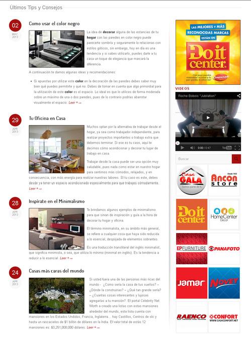 Consejos y Tips - Muebles en Panamá