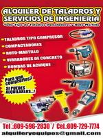 Alquiler de Taladros y Servicios de Ingenieria