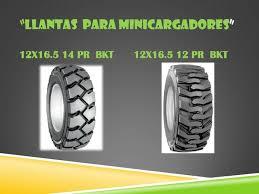 Llantas Montacarga BKT Importador Distribuidor 12x16.5