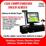 cajas computarizadas Touch Screen