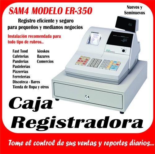 cash registers er sansung 350