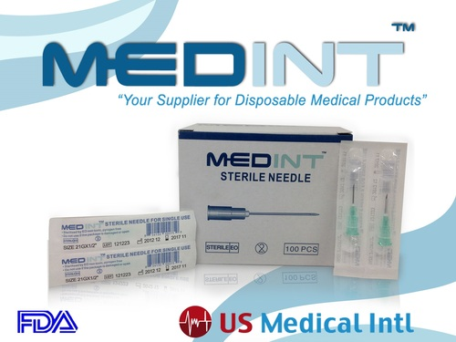 Needles 21G X 1/2 Medint