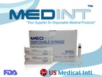 syringes 3ml/cc sterile Medint