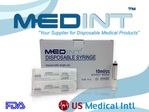 syringes 10ml/cc sterile Medint