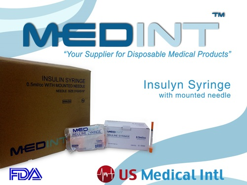 insuline spuiten 1ml/cc 31g x 5/16 MEDINT