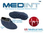 shoe covers non skid 35gr SPP Medint dark blue scrub medical uniform