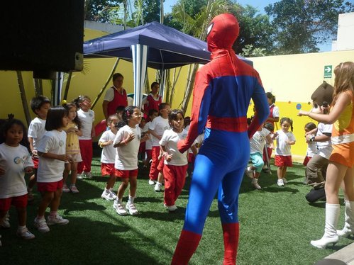 Show Hombre araña