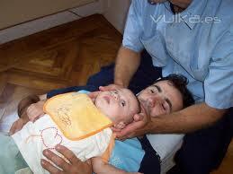 atención quiropráctica a bebés
