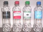 Botellas de agua con su marca