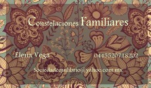 Constelaciones Familiares en el D.F. y Estado de México