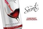 Cabernet Sauvignon Wein mit rubinroten Farbe.