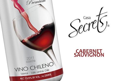 Cabernet Sauvignon el Vino con un color Rojo Rubí.