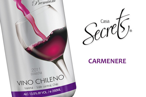 Carmenere with Deep Red color.