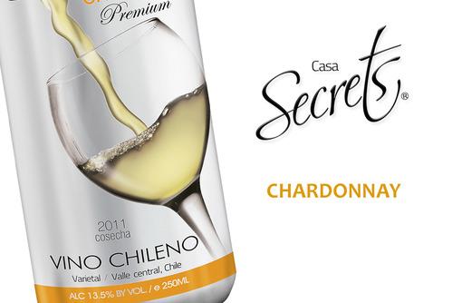 Chardonnay con un color Paja de Trigo.