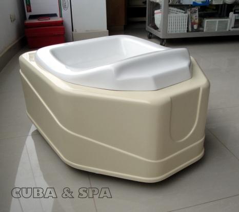 Pedicure mueble con hidromasaje para pies