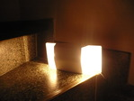 Luces de Emergencia LED lampara de pared o techo Control electronico