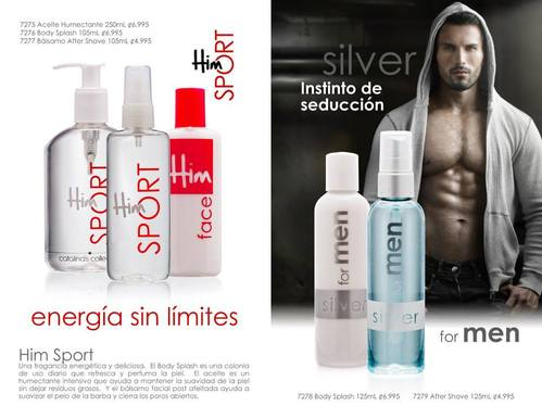 HIM-Sport- SILVER for Men