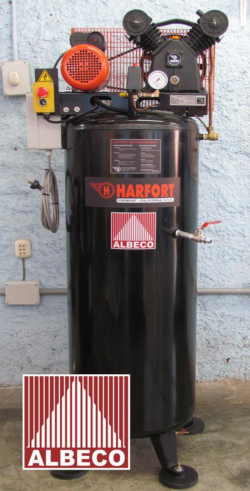 INDUSTRIAL COMPRESSOR HARFORT 3 - HP + 80 GLNS Tank ( 300 Litres )
