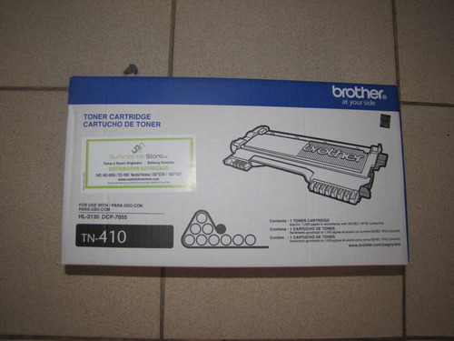 Brother TN -410 Toner original free distribution in metropolitan Lima