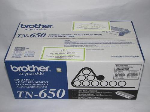 Toner Brother TN-650 de 8000 pag. original reparto gratuito en lima