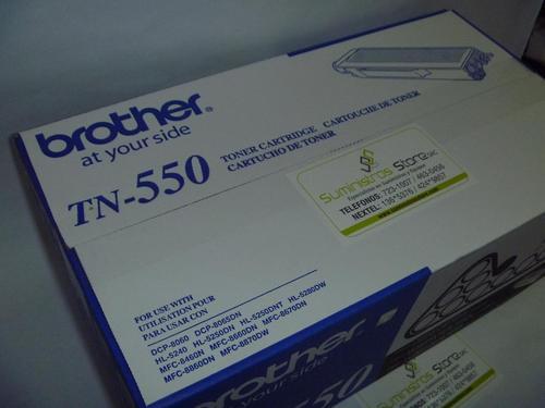 Toner brother TN-550 original - delivery gratuito en lima metropolitan
