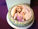Queque de Rapunzel