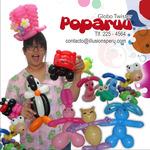 Globoflexia Poparuu y sus esculturas con globos