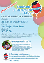 Balloon Decor Classes - Seminars Lima Peru