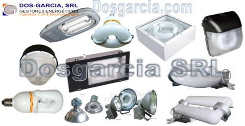 Inducción Luminarias Luces Alumbrado Lámparas dosgarcia.com