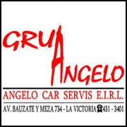 logotipo grúas angelo